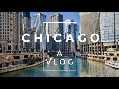 CHICAGO TRAVEL VLOG !!