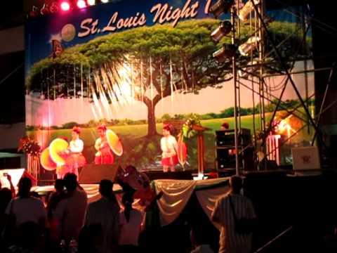 Umbrella Dance Thai School Celebration