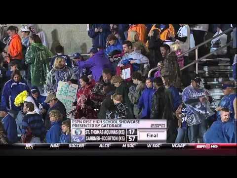 Bubba Starling highlights on ESPNU