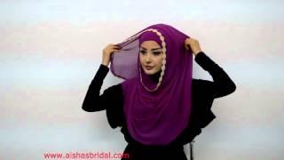 Tesettür Ve Moda - Hazır Türban Ve Şal Bağlama - Hijab Tutorial for Ready to Wear Hijab and Shawls