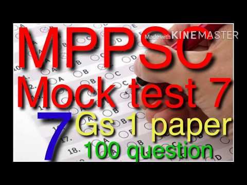TEST SERIES MPPPSC 2018.RIGHT ACADEMY