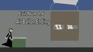 Evil Nun 1.6 Version - The Lost Children (Air Ballon Ending) - Stick Nodes Animation