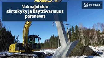 Nivala-Hitura-Haapajärvi 110 kV voimajohtohanke