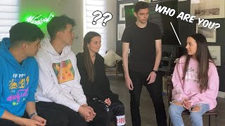 Hypnotizing Veronica Merrell to Not Recognize Her Twin | Hypnosis Collab with Alex Wassabi