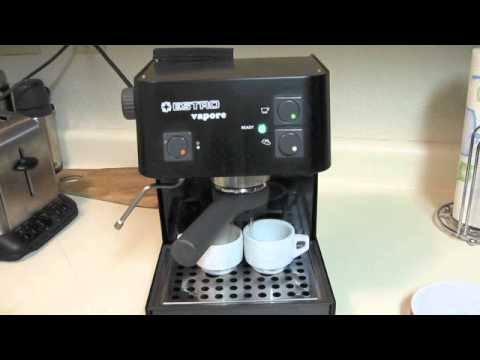 how to clean a barista espresso machine