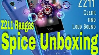Spice phone Z211 Raagas Unboxing and Review