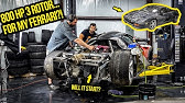 Trying To Start a Wrecked 800-HP Rotary Engine To Put In My Ferrari (PURISTS SHOULD NOT WATCH!)