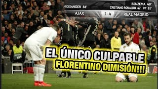 VENDER a CR7: El MAYOR ERROR de Florentino Perez - Real Madrid vs Ajax 1-4