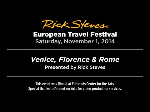 Venice, Florence & Rome with Rick Steves