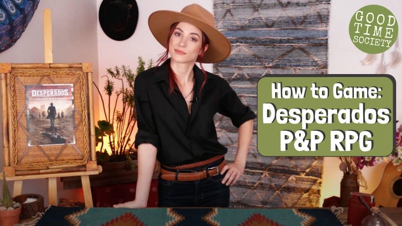 Desperados Pen Paper Rpg How To Game Youtube