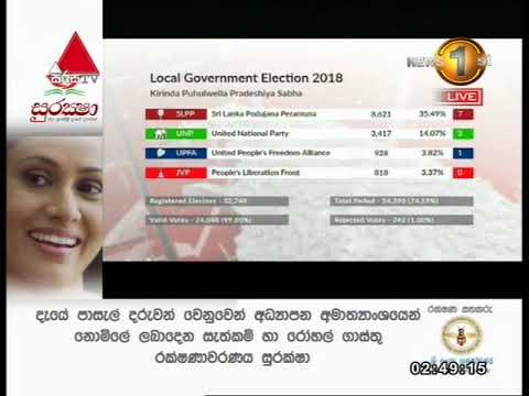 Local Government Elections 2018 Result Clip 03