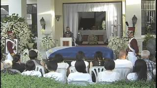 Hundreds of Bicolanos Joined the Necrological Mass in Honor of the late DILG Sec. Robredo 8/22/12