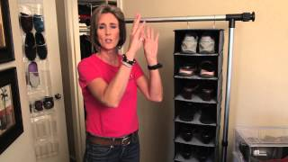 Space Saver Ideas For Shoes : Organizing With Style