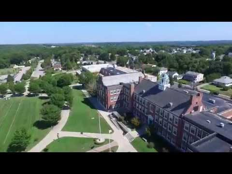 Westerly High School Aerial View