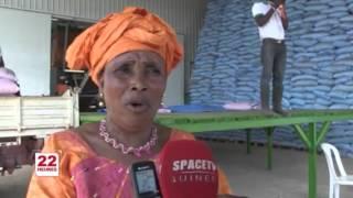 Inauguration d'une unité de production d'engrais à Dubréka