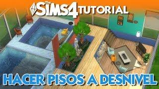 Hacer pisos a desnivel en Los Sims 4 | Trucos y Consejos