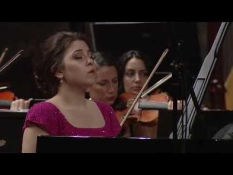 Lara Melda Grieg Piyano Konçertosu Borusan İstanbul Filarmoni Orkestrası
