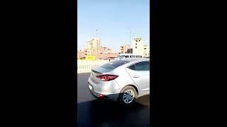 مشهد حصري من طريق دائري المرج الجديدة بالقاهرة