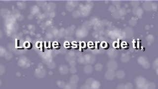Franco de Vita   Lo Que Espero De Ti - Letra - HD