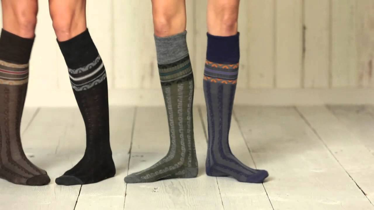 449add4ea5d258 Women s SmartWool Splendor Knee High Socks - YouTube