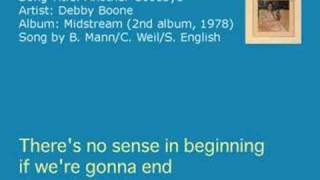 Debby Boone - Another Goodbye (Audio)