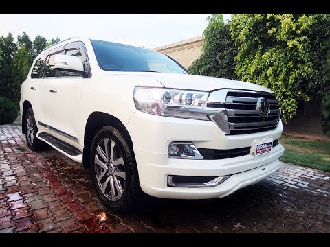 Toyota Luxury SUV | 2016 Toyota Land Cruiser Zx| Complete Review| Startup| Pakistan