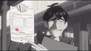 Бумажный роман - PAPERMAN | Короткометражки Студии Walt Disney | мультики Disney