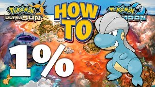HOW TO GET 1% Bagon in Pokemon Ultra Sun and Moon
