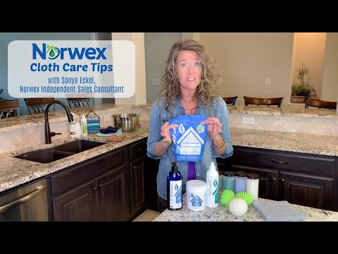 Norwex Cloth Care:  How to Wash (& Deep Clean) your Norwex!