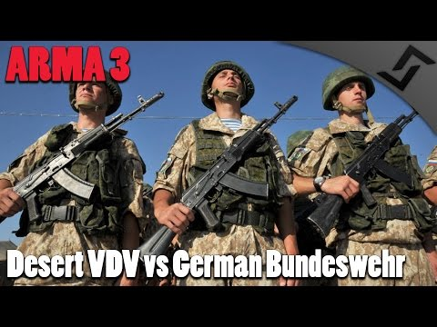 ARMA 3 - Russian Special Forces vs German Bundeswehr