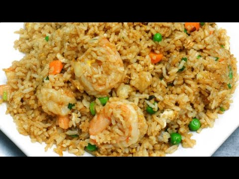 SHRIMP 🍤 FRIED RICE! W/CHICKEN TOO 🔥