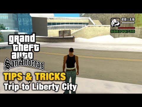 GTA San Andreas - Tips & Tricks - How to reach Liberty City