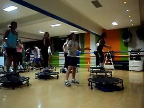 Aula de Jump no SECEG com a professora Giulia Moraes - 04-03-