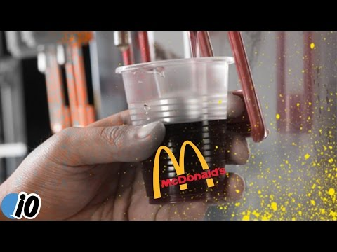 McDonald's Customer Arrested For Putting Soda In Water Cup
