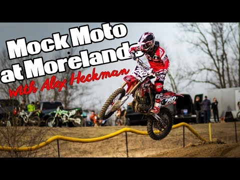 Mock Moto at Morelands MX! Commentary over Heckman's Footage