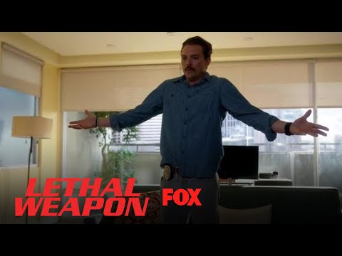 Riggs Tells Maureen He Doesn't Know How To Be Normal   Season 2 Ep. 2   LETHAL WEAPON