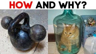 HOW AND WHY? 20 WEIRD SITUATIONS THAT CAN'T BE EXPLAINED