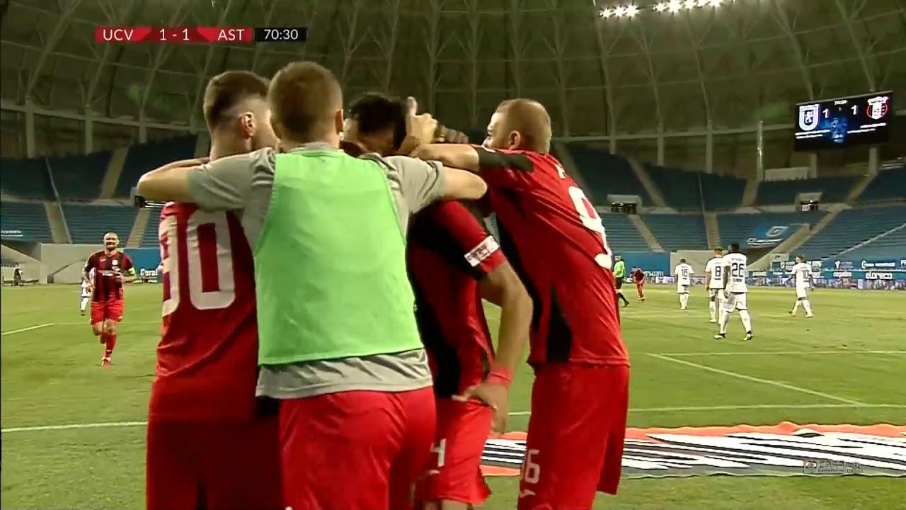 Rezumat: U Craiova - Astra Giurgiu 2-1 Etapa 4 play off