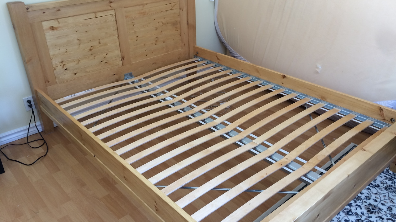 building a solid pine bed frame part 1