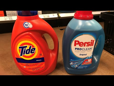 Tide vs. Persil: Who wins in the battle of detergents?