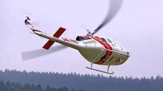 BELL UH-1D GIGANTIC SCALE RC TURBINE MODEL HELICOPTER FLIGHT / Pöting Turbine Meeting 2015