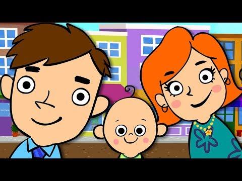 馃枑锔廡he Finger Family | NEW BABY FINGER DANCE | Mother Goose Club Kids Songs and Baby Songs