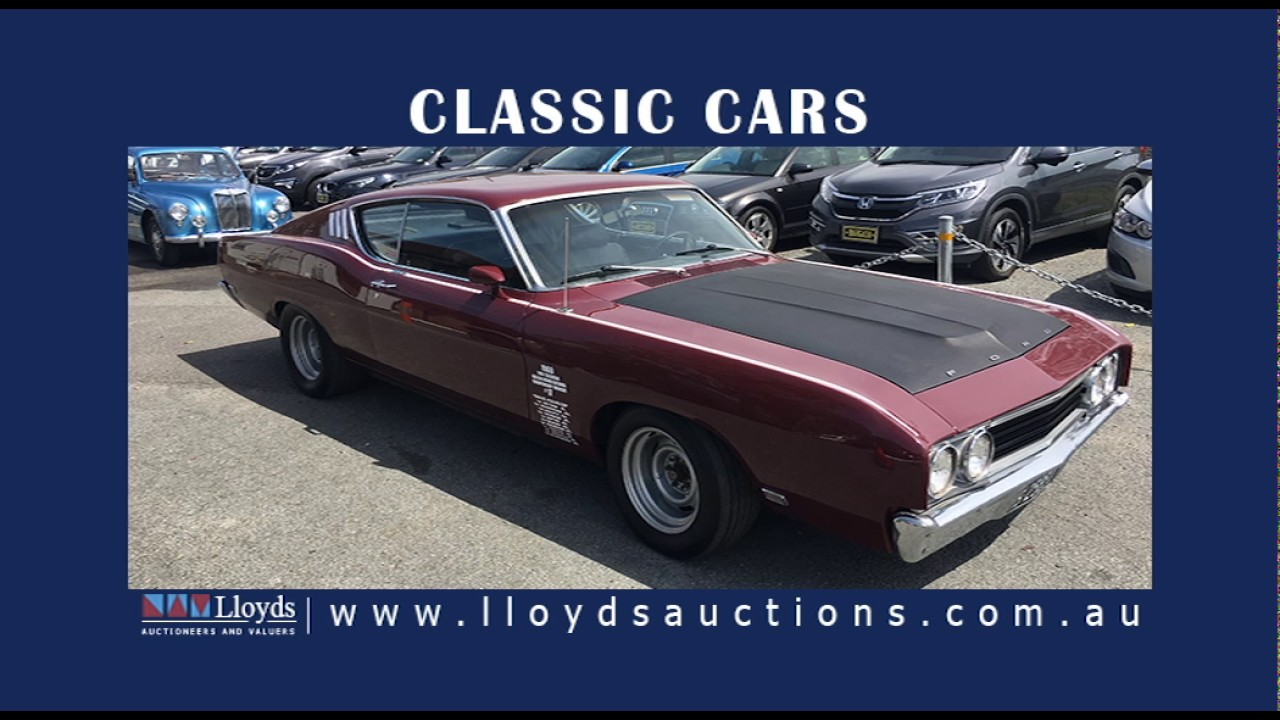 Classic, Muscle & Barn Finds Auto Auction - Lloyds Classic Car ...