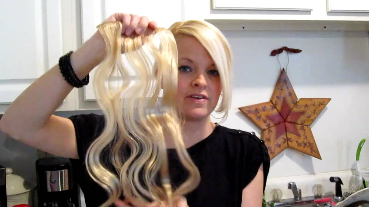 How To Scrunch Hair Extension And Wash Body Wave Extensions Youtube
