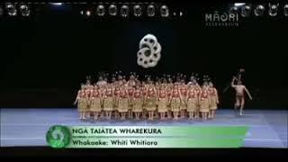 Ngā Taiātea Wharekura - Whakaeke 2012 Credit: Māori Television | AKHL
