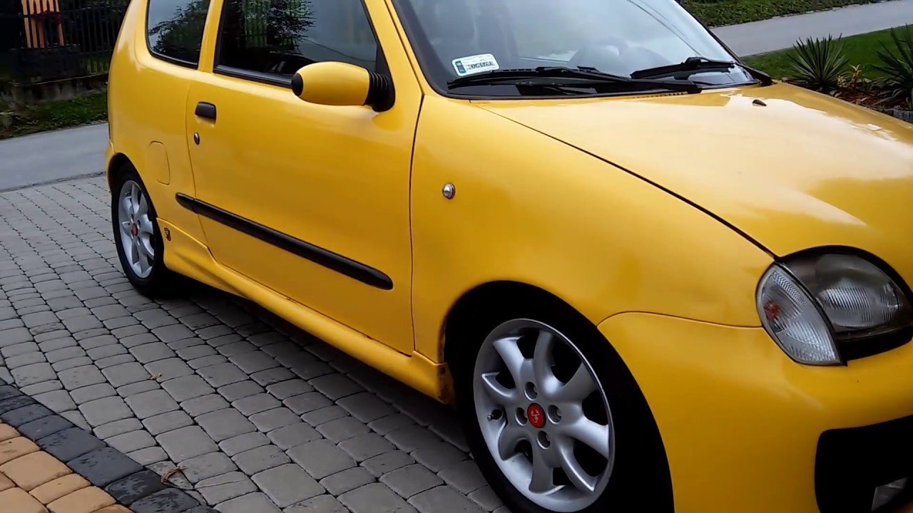 fiat seicento sporting abarth swap 1 4 16v 6gear 103km. Black Bedroom Furniture Sets. Home Design Ideas