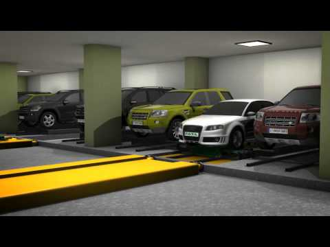 FATA Automated Parking Systems: 1 Car Park, 5 Systems