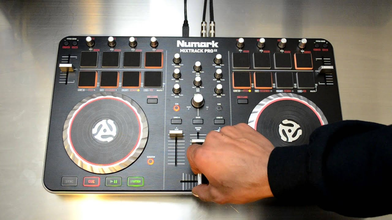 NUMARK MIXTRACK 3 - DJ CONTROLLER FOR VIRTUAL DJ