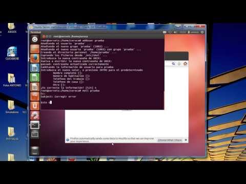Ubuntu: Postfix con SquirrelMail. Error Connection server