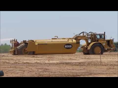 Caterpillar 623F Water Tanker for Dust Suppression